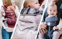 ERGOBABY NYHETER: Bär ditt barn med stil i sommar!