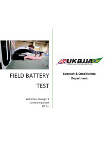 Strength and Conditioning for BJJ - Field Test Battery