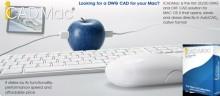 iCADMAC AutoCADin kaltianen CAD-ohjelmisto MAC:lle