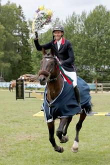 Niklas Arvidsson vann Runsten Equestrian Grand Prix
