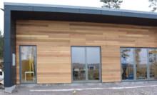 Imponerande energieffektivitet med låglambdaprodukter i husbygge i Horn