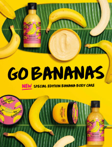 Go Bananas - Somrig limited edition serie från The Body Shop