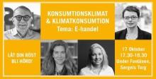 Seminarium om klimat och konsumtion med fokus: E-handel