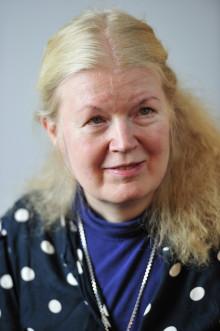 Vibeke Olsson får medalj av kungen