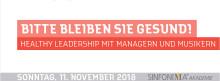 Healthy Leadership: SINFONIMA®-Akademie leitet 16. Deutschen Orchestertag ein