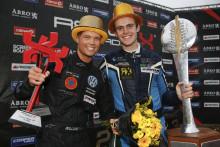 Bryntesson och Nilsson erövrade RallyX Nordic-guld i Strängnäs