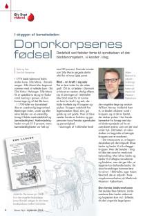 Donorkorpsenes fødsel