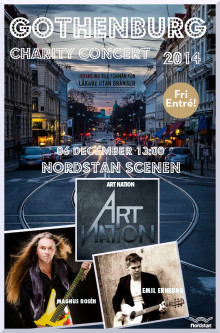 The Gothenburg Charity Concert den 6 december i Nordstan