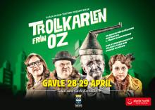 Glada Hudik-teatern till Gävle med Trollkarlen från Oz