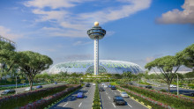 Singapore Changi Airport breaks new ground with Jewel
