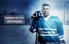 Leo Komarov blir internationell ambassadör för NordicBet