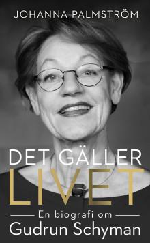 Pocketupplagan av biografin över Gudrun Schymans liv släpps 8 mars