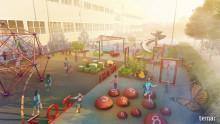 Tekniska museet och Natur & Kultur Läromedel satsar på den matematiska trädgården