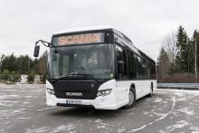 Scania påbegynder tests af batteridrevne elbusser