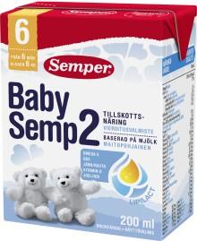 Semper vetää takaisin BabySemp 2 käyttövalmista vieroitusvalmistetta pakkausvirheen vuoksi