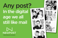 """Any post?"" – In the digital age we all still like mail"
