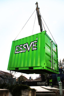 ESSVE lanserar nytt containerkoncept: Inga mer lösa skruvar