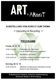Tag der offenen Tür und Ausstellung ART + ARbeiT an der IB Medizinischen Akademie Freiburg