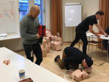 En trygghet att lära sig försöka rädda liv
