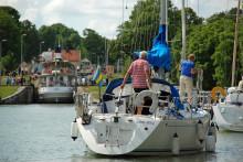 Göta kanals besökssiffror skjuter i höjden inför sommaren