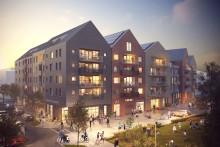 Lokalt byggbolag bygger bostäder i Norrtälje hamn