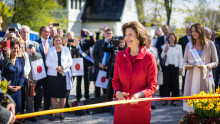 Drottningen invigde SilviaBo – bostäder för demenssjuka