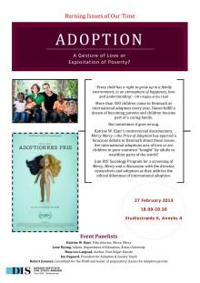 Adoption - En kærlighedsgestus eller udnyttelse af fattige lande?