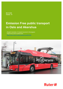 Report on Zero Emission Public Transport in Oslo and Akershus