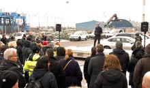 Ny hamnterminal minskar lastbilstrafiken genom Göteborg