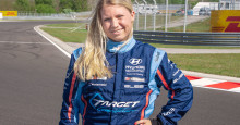 Jessica Backman is one out of seven VIP drivers in TCR 2019
