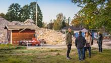 Köpare i Falun fick träffa sina nya grannar