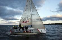 Fin andraplats för Audi R8 och de alpina landslagstjejerna i ett tufft och långdraget Gotland Runt