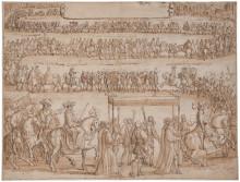Nyförvärv:  Drottning Kristinas intåg i Paris 1656 av François Chauveau