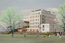 Malmberg Geoenergi värmer och kyler till nya Fritiden Hotell & Kongress i Ystad