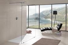 Le plaisir d'un moment à soi sous la douche avec Villeroy & Boch Sols de douche haut de gamme pour tous les types d'aménagement et pour presque tous les agencements