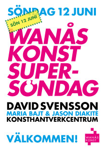 Program Wanås Konst Supersöndag 12 juni 2016