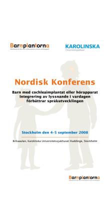 Konferens om barns tal- och språkutveckling, program