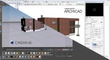 CineRender i ArchiCAD 18
