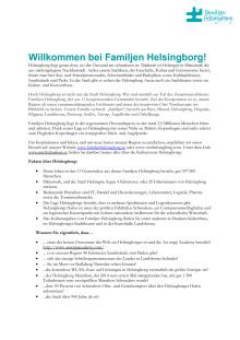 Willkommen bei Familjen Helsingborg!