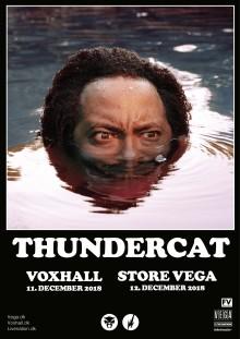 Den GRAMMY-vindende multi-genre artist, Thundercat, spiller to shows i Danmark til december.