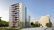 """Nu tar vi """"Första Spadtaget"""" för HSBs bostadsrättsförening Panorama i Berga Park i Linköping"""