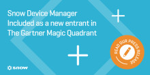 Snow Software placeres i Gartner Magic Quadrant
