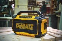 DEWALT® Introduces The 12V/20V MAX* Jobsite Bluetooth® Speaker