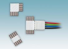 New PCB connectors for flexible LED PCBs