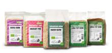 Trendiga korn - naturligt fria från gluten