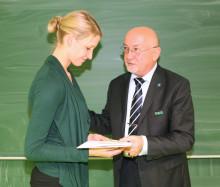 2. Platz beim Landesabsolventenpreis 2014 ging an Masterabsolventin der Biosystemtechnik/Bioinformatik aus Wildau