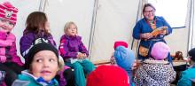 Samisk kultur och ordbrötar när Årets berättarkommun Sorsele tog plats på Berättarfestivalen i Skellefteå