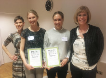 De vann Norconsults studentpris för bästa artikel i tidskriften Vatten