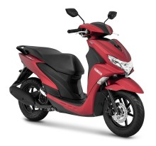 Yamaha Motor Launches Free Go in Indonesia - Family Scooter Combining Practicality and Elegant Style -