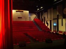 Klartecken för digital film på Vallentuna Teater
